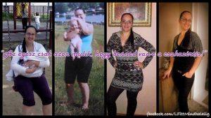 1 hónapos fogyás haladás