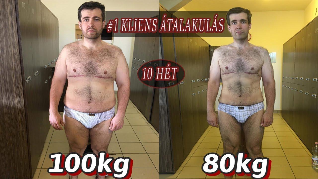 70 kiló súlycsökkenés