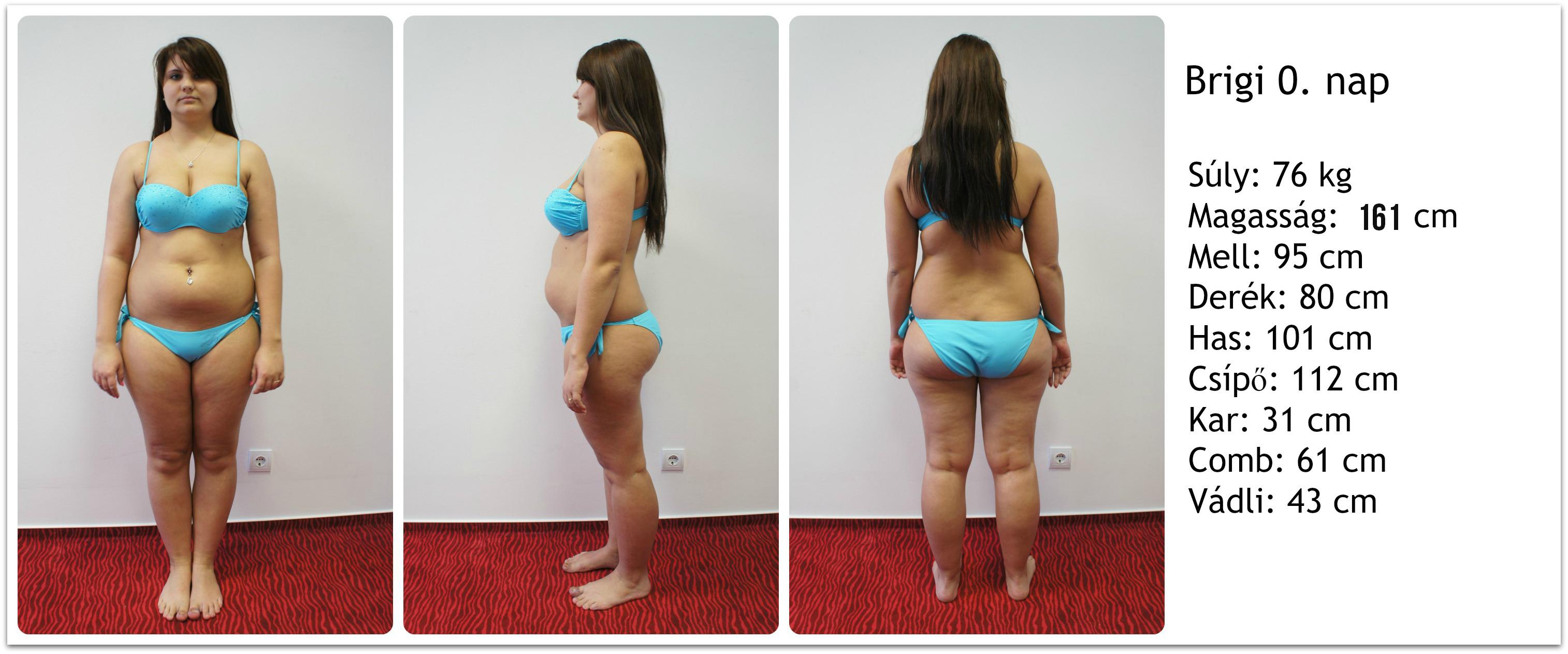 12 kg fogyás előtt és után