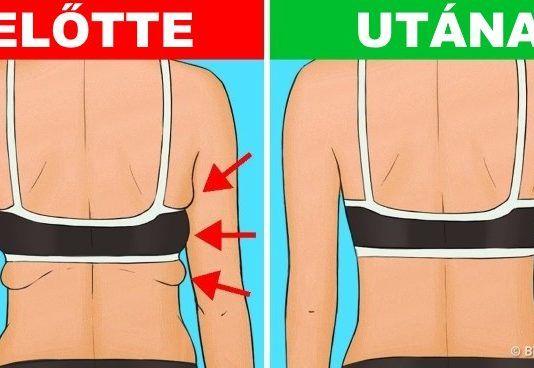 hogyan lehet elveszíteni a hát és a hónalj zsírját