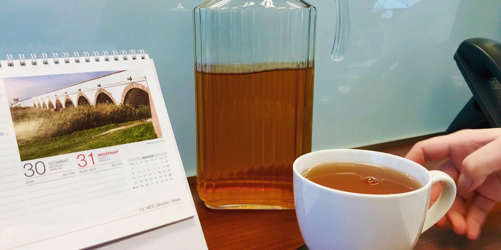 11 tea, ami jobb, mint egy óra az edzőteremben