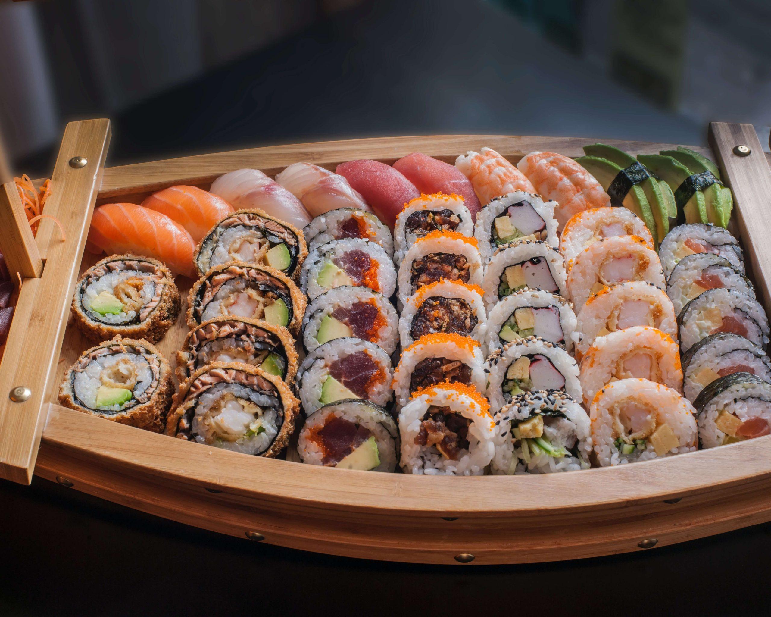 sushi fogyni a legjobb hasi zsírégető