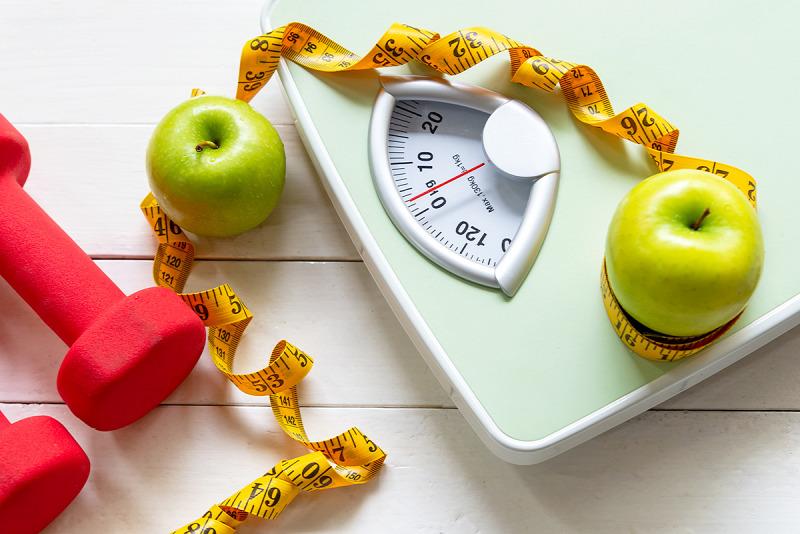 a súlycsökkenés nem tükröződik a mérlegen