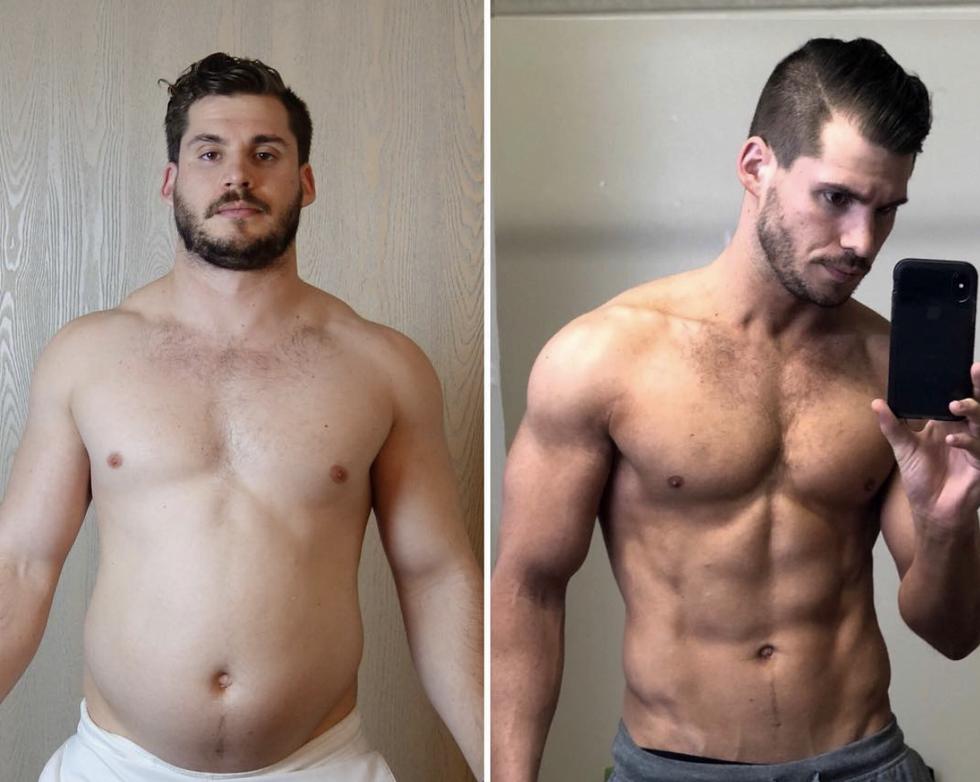 egy hónapos fogyás átalakulás