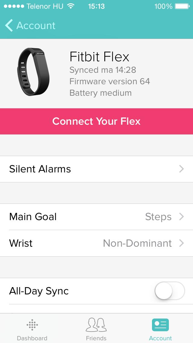 Fitbit Flex: apró, könnyű, vízálló okoskarkötő