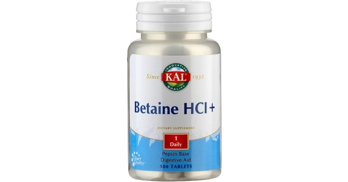 Betaine HCl mg - Capsules