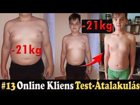 legnagyobb súlycsökkenési átalakulások
