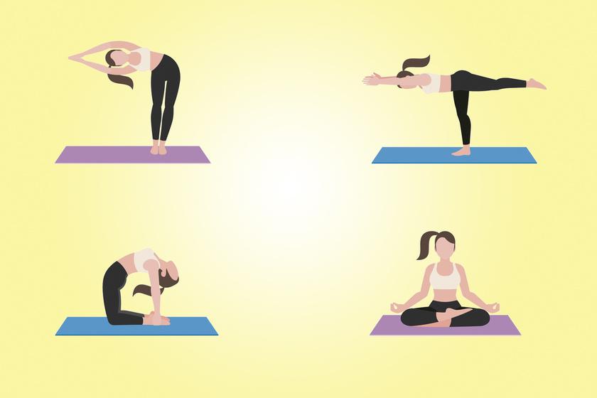 Alakformáló, zsírégető jóga gyakorlatok