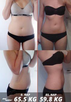 bikini fogyás előtt utána